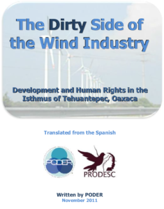 The Dirty Side of the Wind Industry