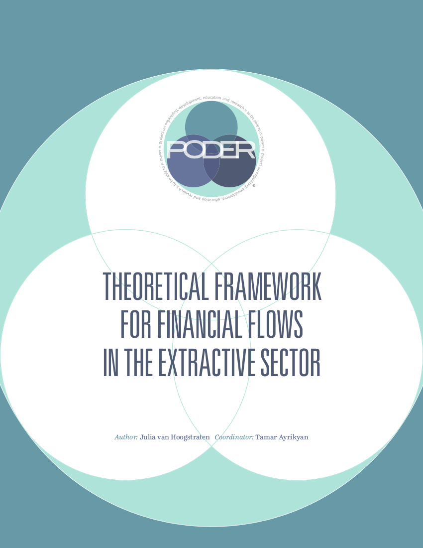 THEORETICAL FRAMEWORK FOR FINANCIAL FLOWS IN THE EXTRACTIVE SECTOR