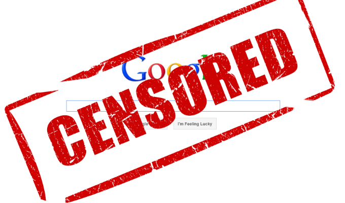 El esquema de censura de Internet en manos de empresas privadas