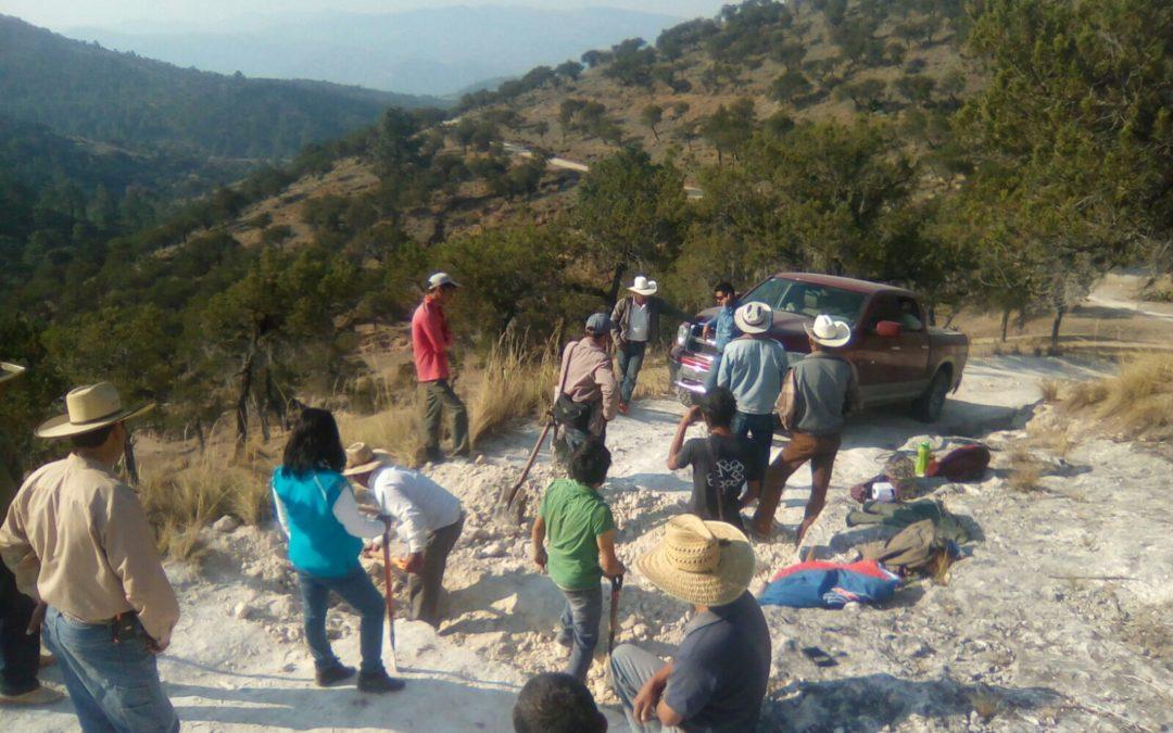 Empleados de Almaden Minerals violentan a habitantes de la Sierra Norte de Puebla