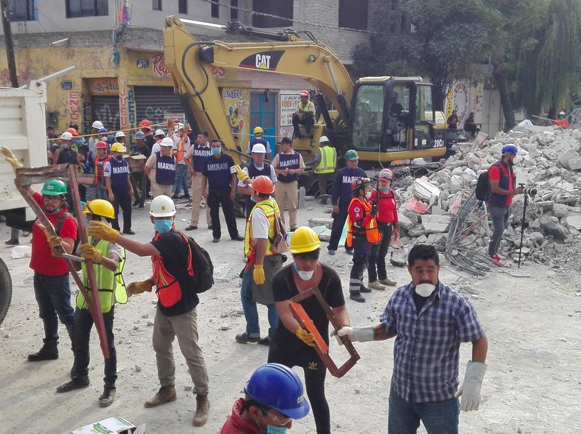 La reconstrucción tras el 19S no contará con el bono catastrófico