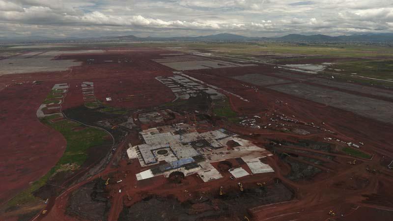 Las mentiras para construir el Nuevo Aeropuerto