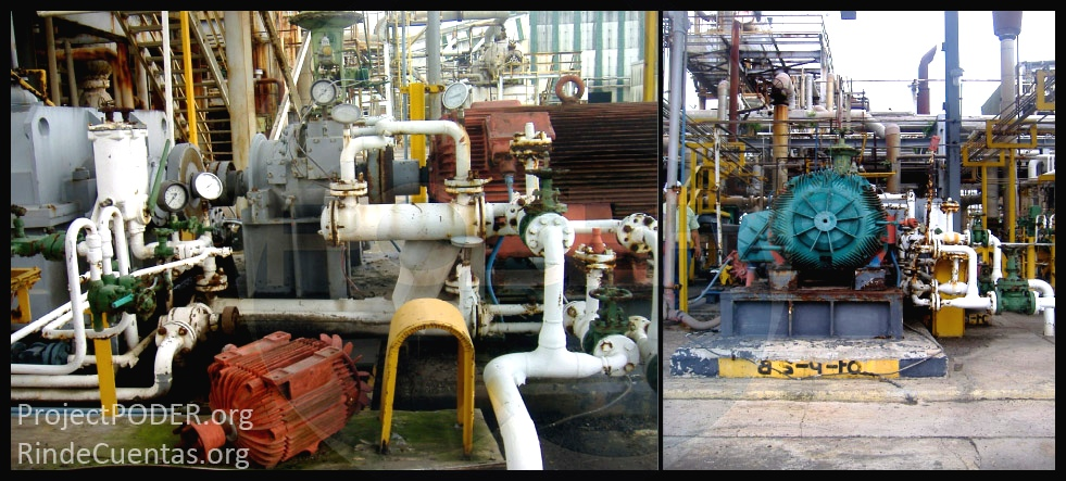 Primeras fotos que prueban abandono de la planta Agronitrogenados