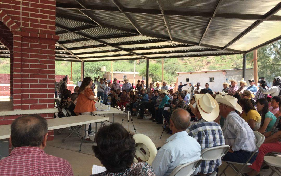 Semarnat se compromete a visitar comunidades afectadas del Río Sonora