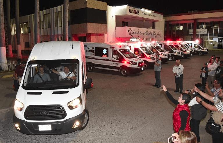 Irregularidades plagan la renta de ambulancias en Sinaloa