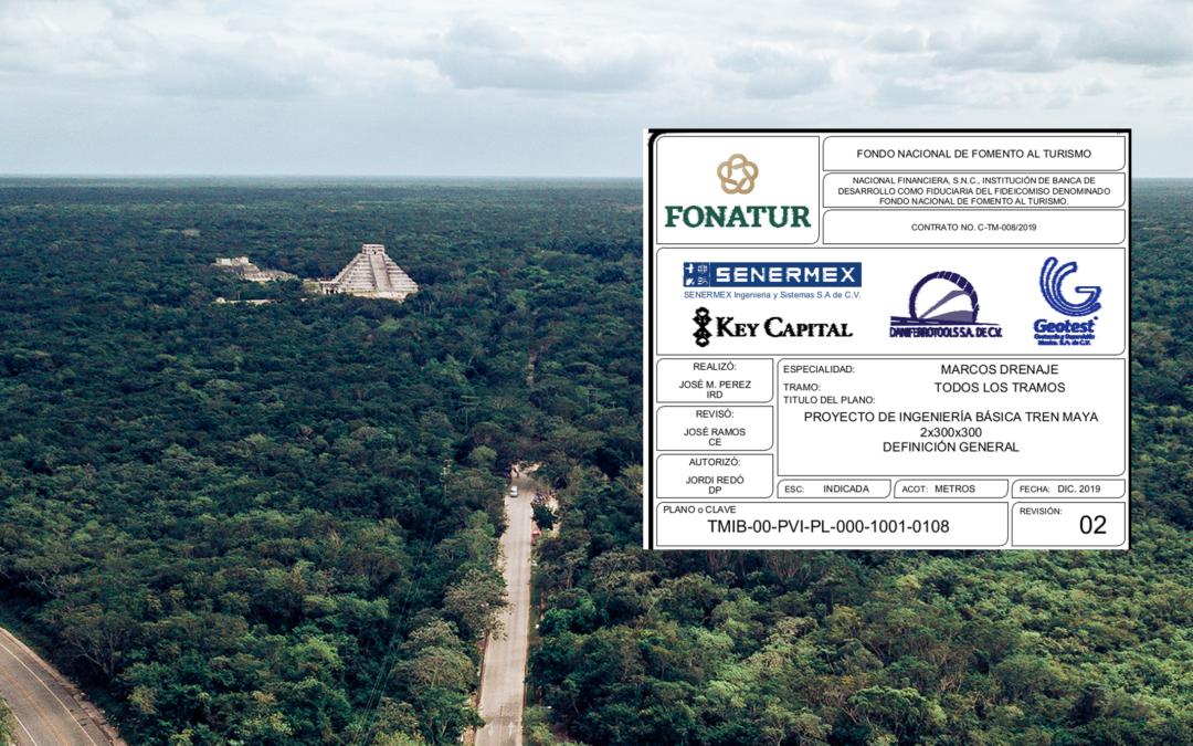 Las empresas contratadas por FONATUR para la MIA del Tren Maya