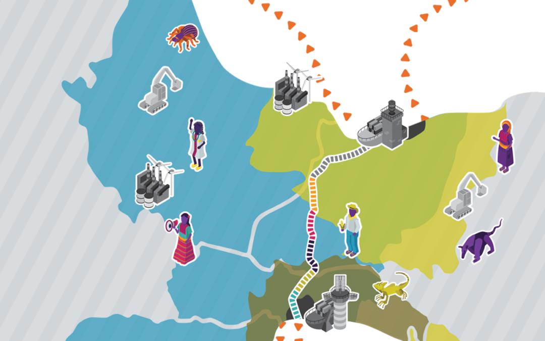 Mapa interactivo: Corredor del Istmo de Tehuantepec