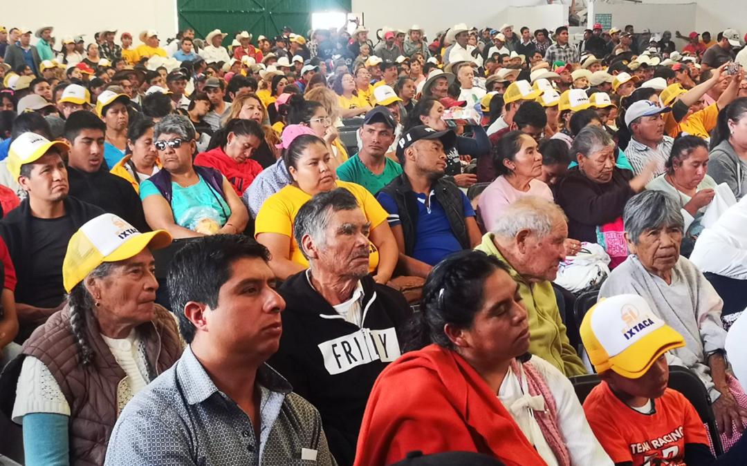 Irregularidades en reunión pública de información en Ixtacamaxtitlán
