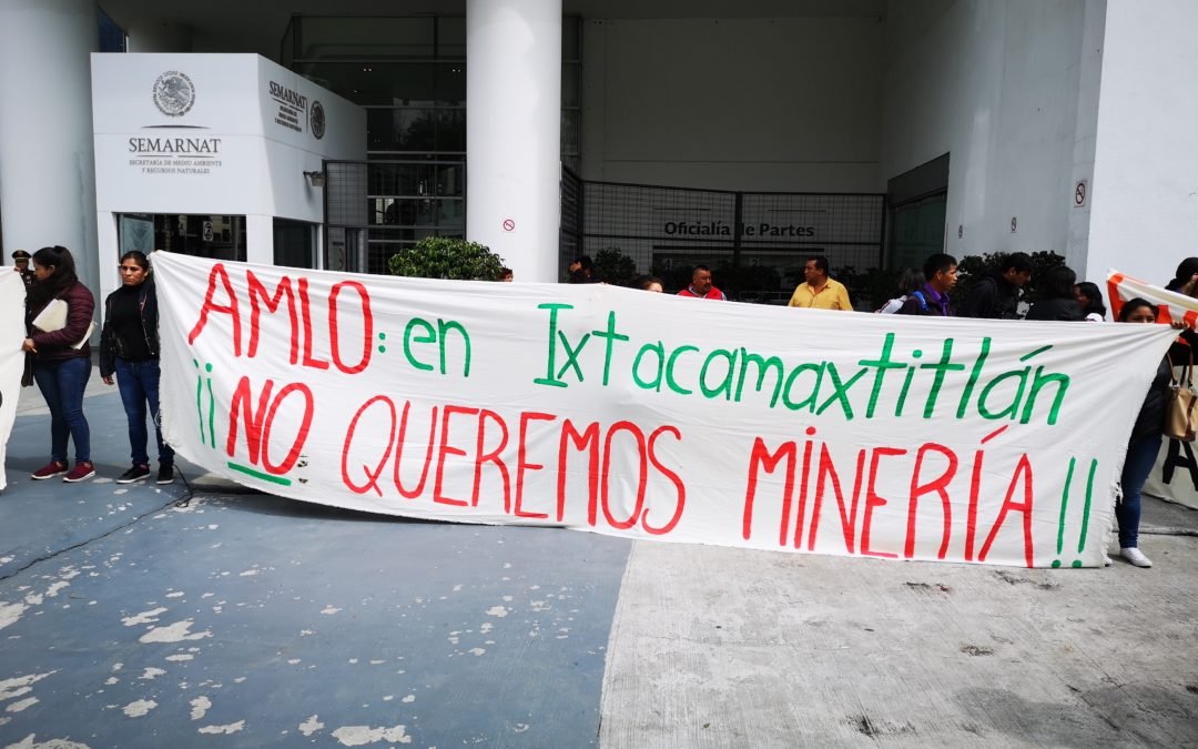 Affected communities and PODER warn about investing in Almaden Minerals' Ixtaca Project after the rejection of the company's Environmental Impact Assessment