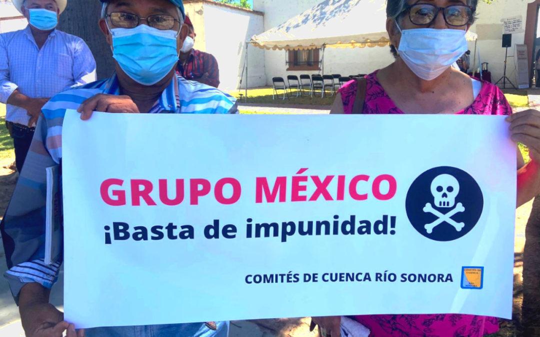 CCRS exigen rendición de cuentas y remediación a accionistas de Grupo México