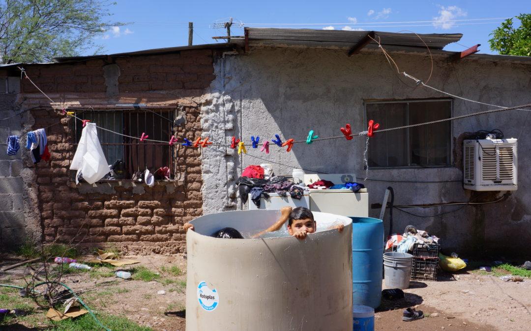 La situación del agua en el Río Sonora
