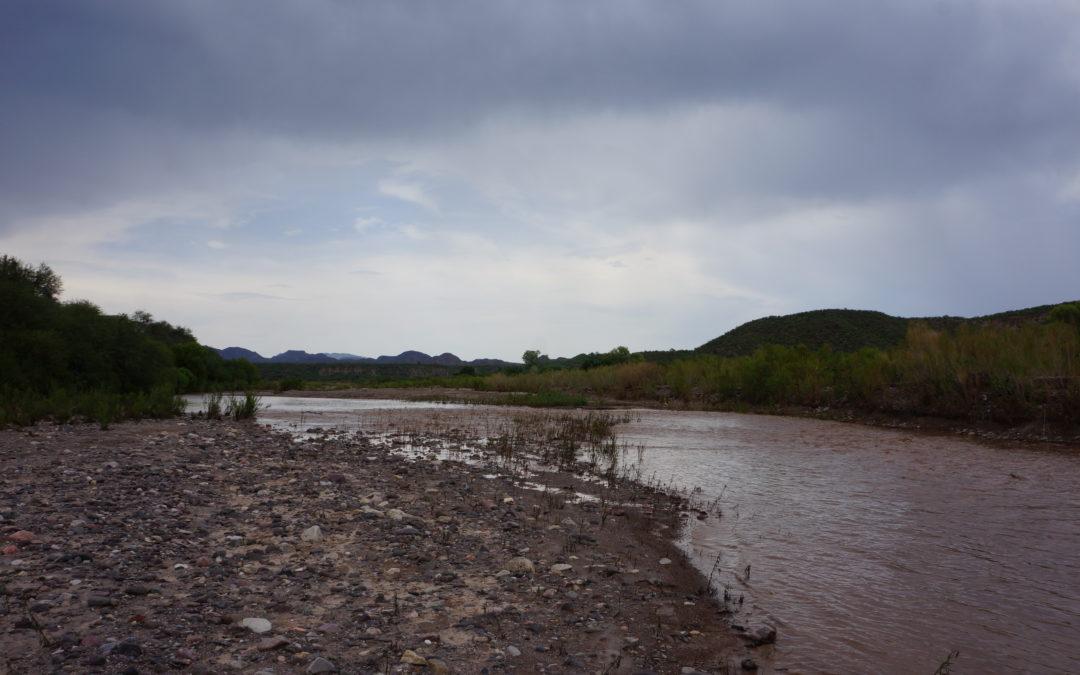 Basta de simulación y #7AñosDeImpunidad: queremos agua limpia en el Río Sonora